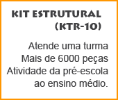 Kit educacional de montar